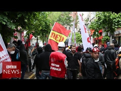 Turkey May Day protests: On the streets of Besiktas – BBC News