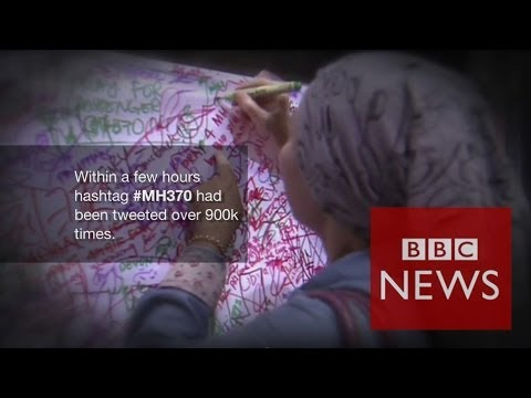 Twitter's reaction to flight MH370 #BBCtrending – BBC News