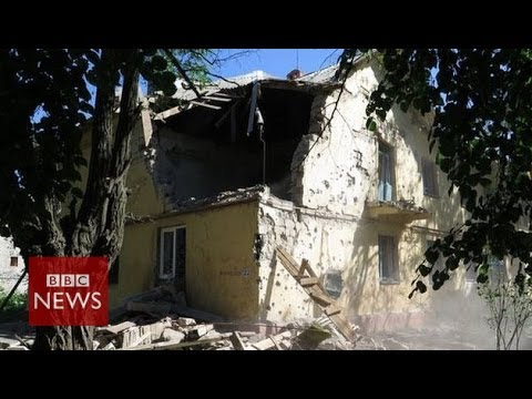 Ukraine crisis: 'Kramatorsk hit by wave of shelling' BBC News