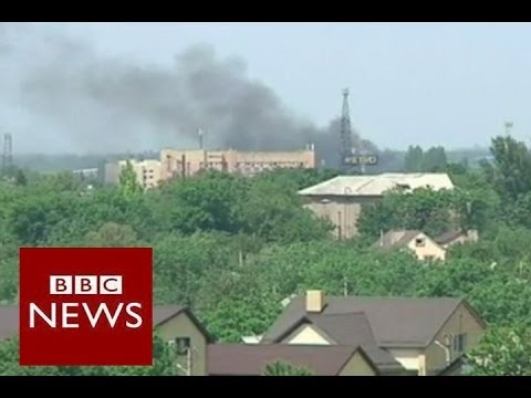 Ukraine crisis: The fight for Donetsk airport – BBC News