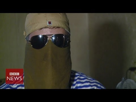 Ukraine crisis: 'We recruit volunteer fighters from Russia' BBC News