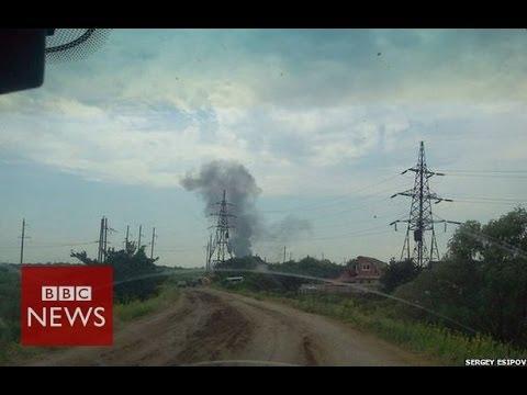 Ukraine helicopter shot down near Sloviansk – 14 dead – BBC News
