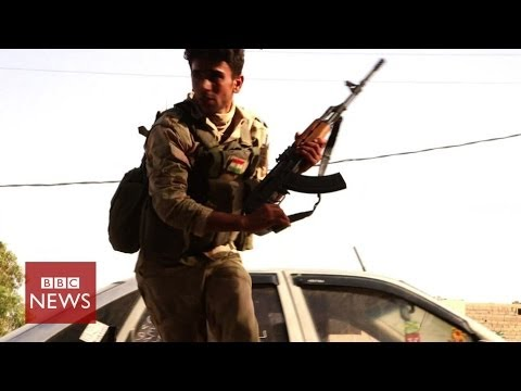 Under fire in Iraq: BBC caught in ISIS gun battle – BBC News