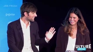 Vulture Festival: Adam Scott and Naomi Scott