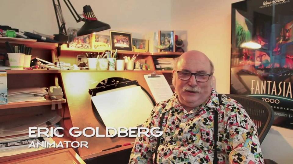 Watch Animation Supervisor Eric Goldberg draw Mickey & Minnie!