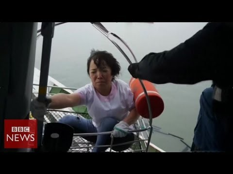 'We were told to stay still' says South Korea ferry survivor – BBC News