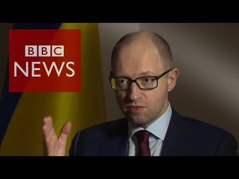 'We'll retaliate if Russia attacks' Ukraine PM Arseniy Yatsenyuk- HARDtalk – BBC News