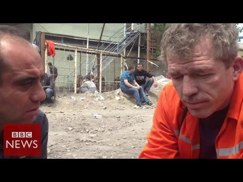 'We've been waiting to get our friends out alive' – BBC News