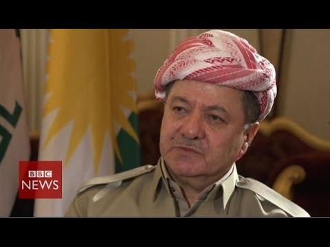 'We've got no hesitation in combating terrorism' says Massoud Barzani – BBC News