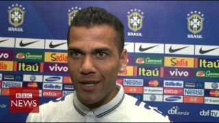 What Brazil's footballers really think about protestors  – BBC News