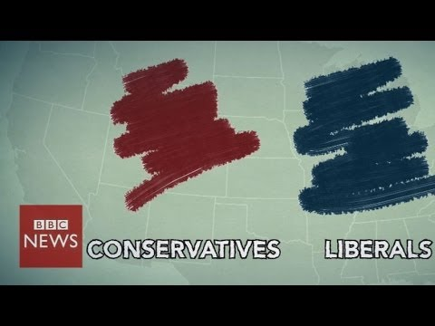 Where do you fit on the US political spectrum? – BBC News