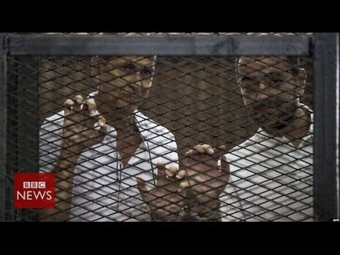 Why did Egypt jail Al Jazeera's journalists? In 60 seconds – BBC News