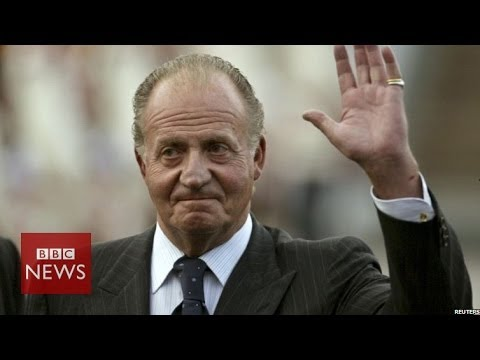 Why is King Juan Carlos of Spain abdicating? In 45 secs – BBC news