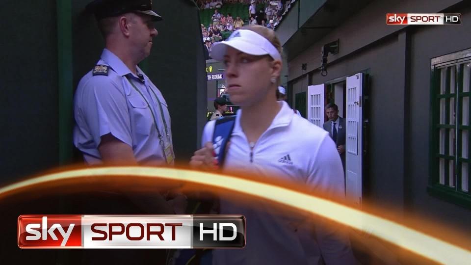 Wimbledon 2014: Angelique Kerber besiegt Maria Scharapowa