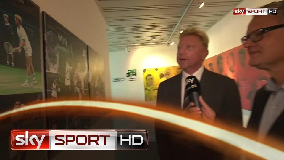 Wimbledon 2014: Becker schwelgt in Wimbledon-Erinnerungen