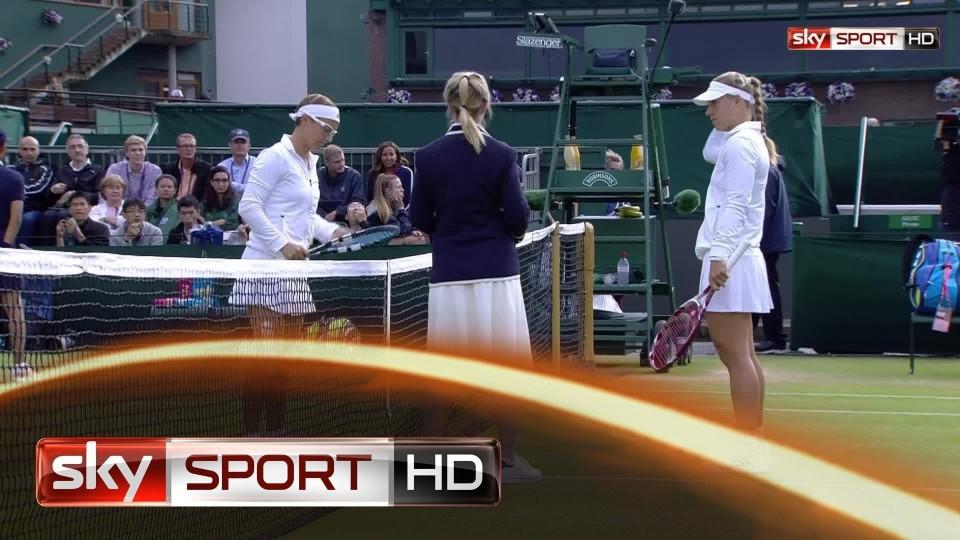 Wimbledon 2014: Kerber kämpft sich ins Achtelfinale