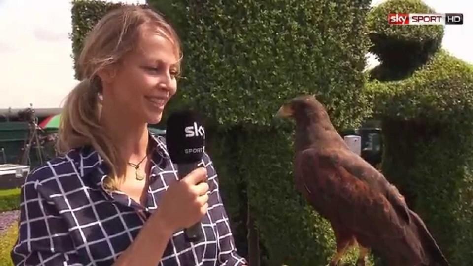 Wimbledon 2014 – Lisa und Rufus auf Tuchfühlung