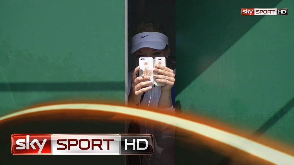 Wimbledon 2014: Lisicki nach Kraftakt im Viertelfinale
