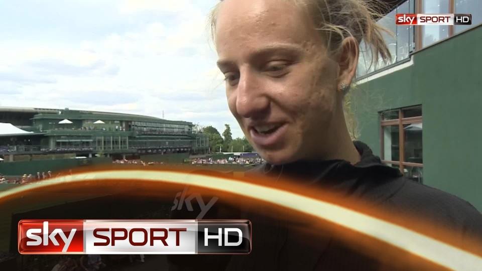 """Wimbledon 2014: Mona Barthel: """"Sie hat sehr, sehr gut gespielt"""""""