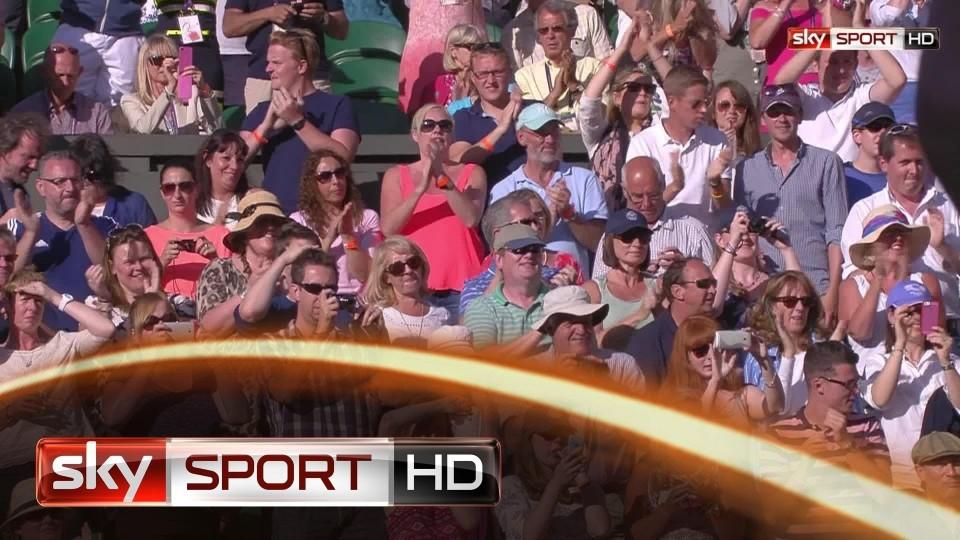 Wimbledon 2014: Murray souverän ins Achtelfinale