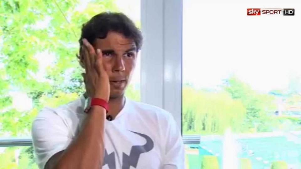 """Wimbledon 2014: Nadal: """"Immer von Wimbledon geträumt"""""""
