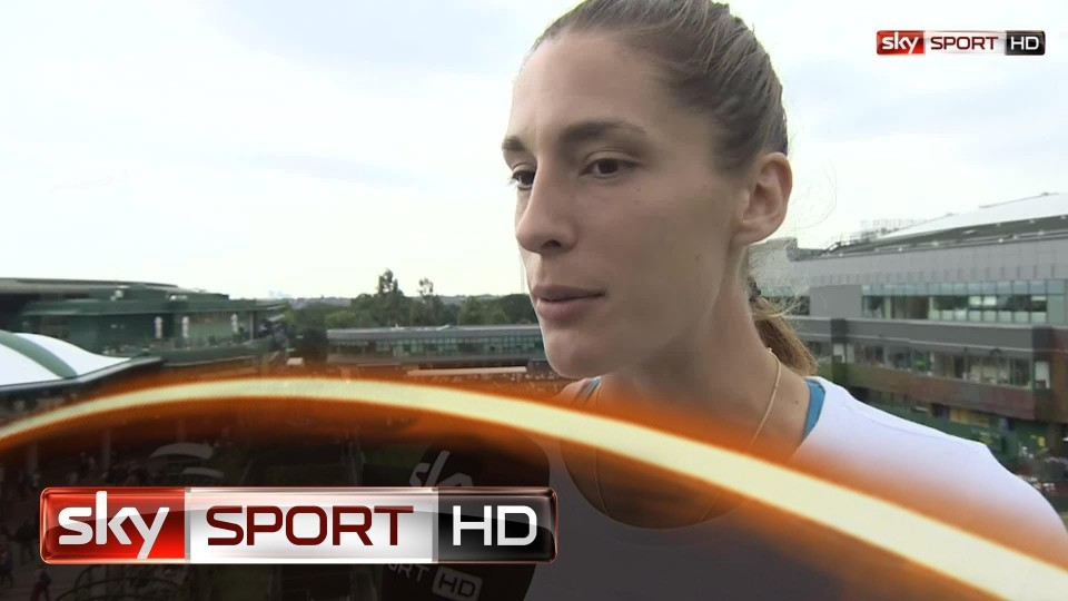 """Wimbledon 2014: Petkovic: """"Fühle mich wohl hier"""""""