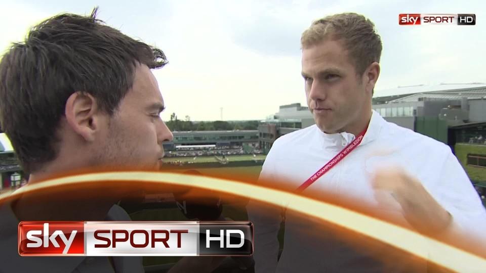 """Wimbledon 2014: Reister: """"Nicht mein bestes Tennis"""""""