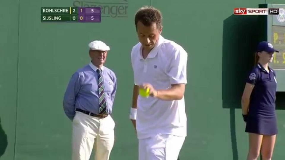 Wimbledon 2014; Starker Auftritt von Kohlschreiber