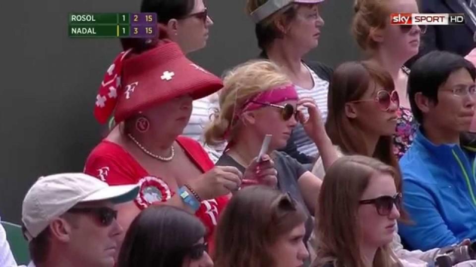 Wimbledon 2014: Top 5 der exotischen Fans in Wimbledon