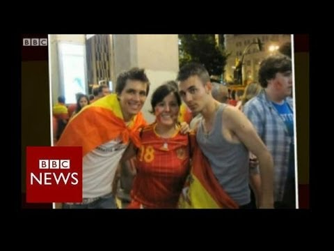 World Cup 2014: Spanish football fan heads to Brazil – BBC News