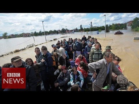'Worst floods' since records began in Serbia & Bosnia – BBC News