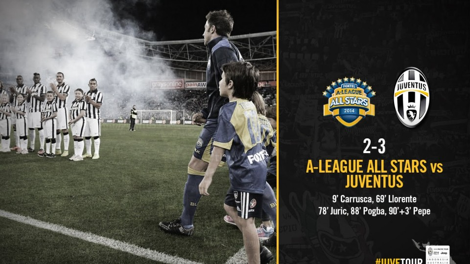 A-League All Stars – Juventus 2-3 HIGHLIGHTS