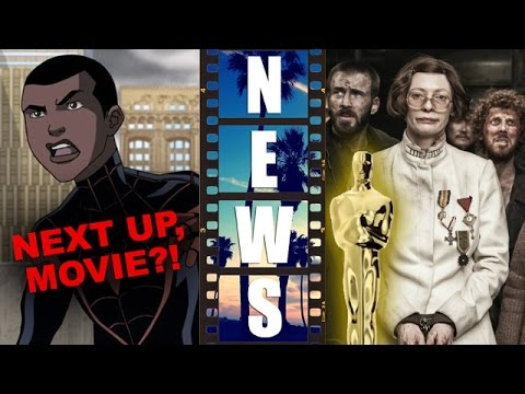 Animated Miles Morales! Next up, Movie? Snowpiercer in Oscars 2015 Predictions! – Beyond The Trailer