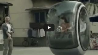 Volkswagen inventa la macchina volante! Futur Car by Volkswagen!