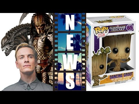 Before Prometheus 2 – Aliens & Predator?! Fire & Stone! Dancing Groot toy! – Beyond The Trailer
