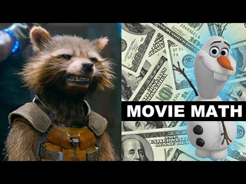 Box Office for Guardians of the Galaxy, Get On Up, Teenage Mutant Ninja Turtles