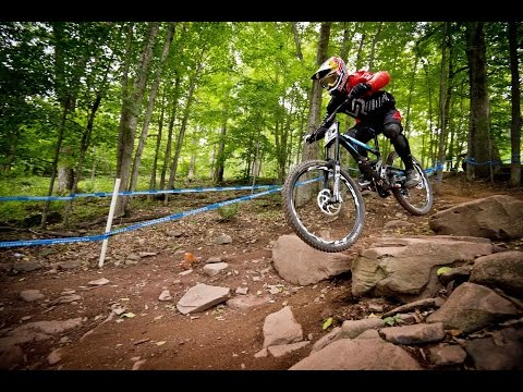 Downhill MTB action from Windham – UCI Mountain Bike World Cup