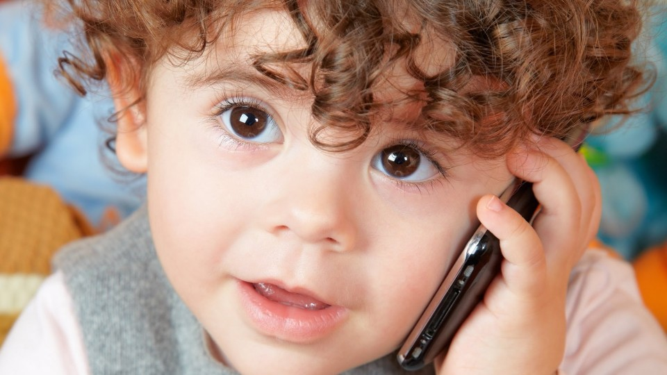 Funny Babies Talking on the Phone Compilation 2014 [NEW HD]