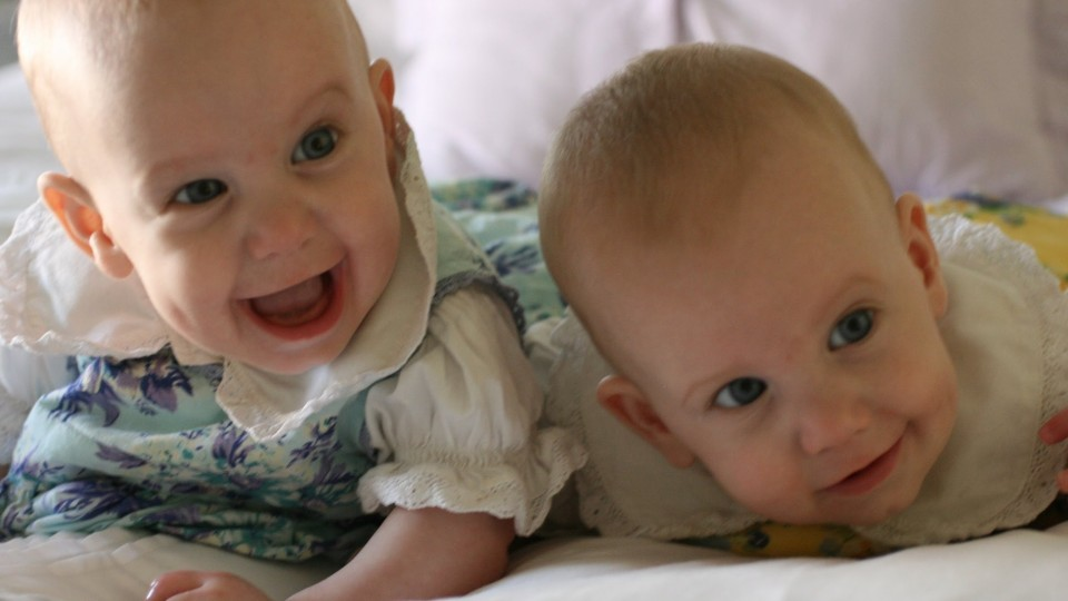 Funny Twin Babies Laughing Compilation 2014 [NEW HD]