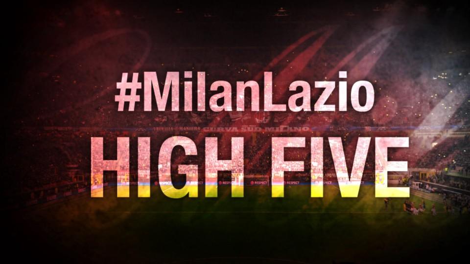 High Five #MilanLazio | AC Milan Official