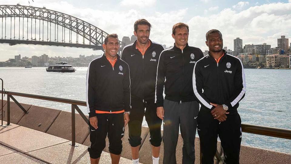 Il primo giorno della Juventus in Australia – Hello Sydney! –Day one in Australia