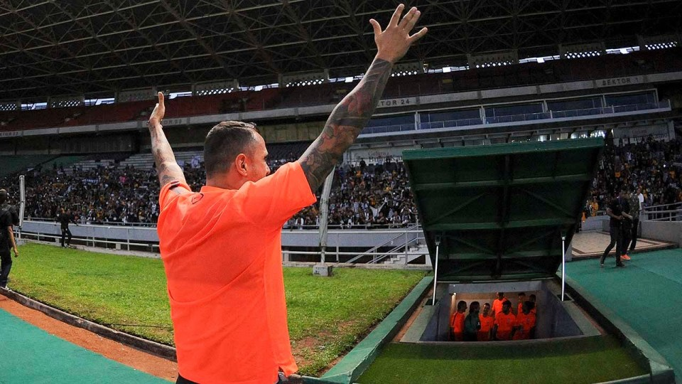 Juventus on tour. Jakarta è bianconera – Jakarta is black and white