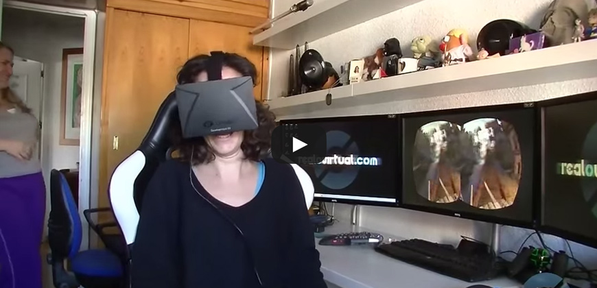 Oculus Rift, quando l'irreale diventa reale | Oculus Rift real reality