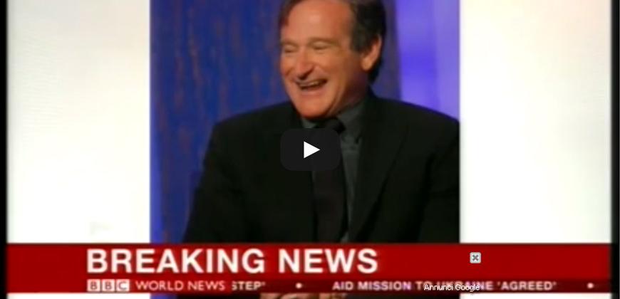 Attore Robin Williams trovato morto, sospetto suicidio o ucciso dagli Illuminati.