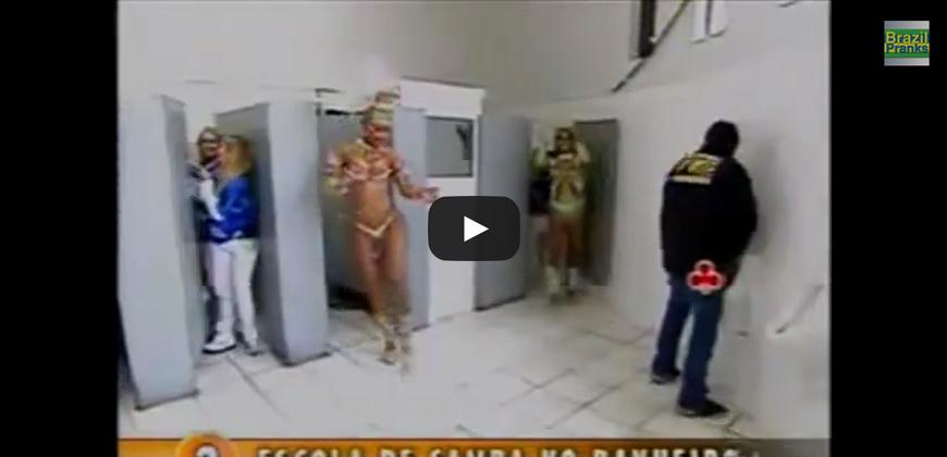 Toilette pubblici, via al samba !