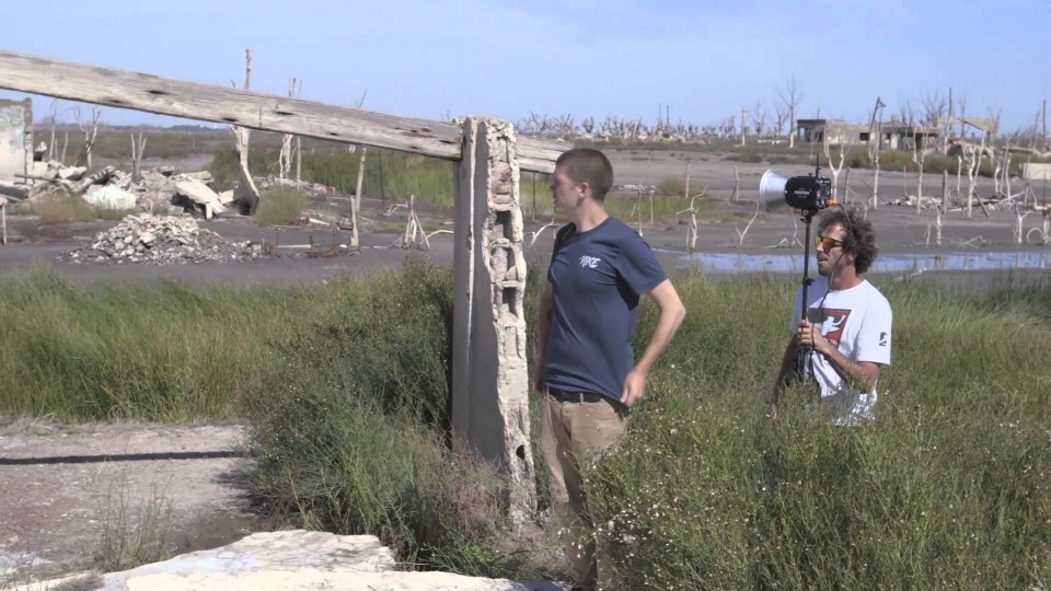 Shooting A Lost City – Epecuén – Danny MacAskill