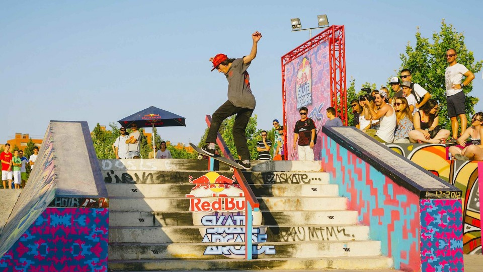 Skateboarding contest in Spain – Red Bull Skate Arcade 2014