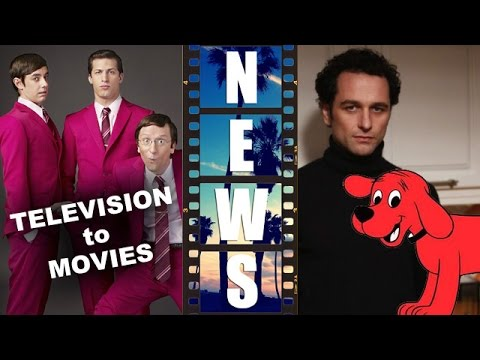 The Lonely Island, Matthew Rhys and Clifford the Big Red Dog all get a movie! – Beyond The Trailer