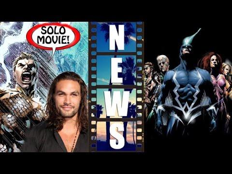 Warner Bros & DC solo Aquaman movie, Marvel Studios with Inhumans movie – Beyond The Trailer