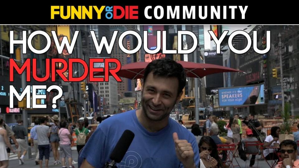 Yoni Lotan: How Would You Murder Me?
